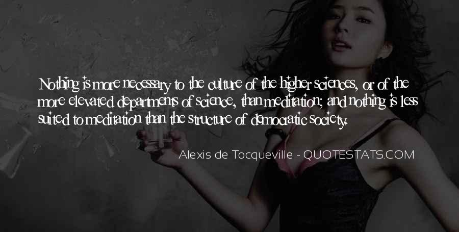 Alexis De Tocqueville Quotes #503123