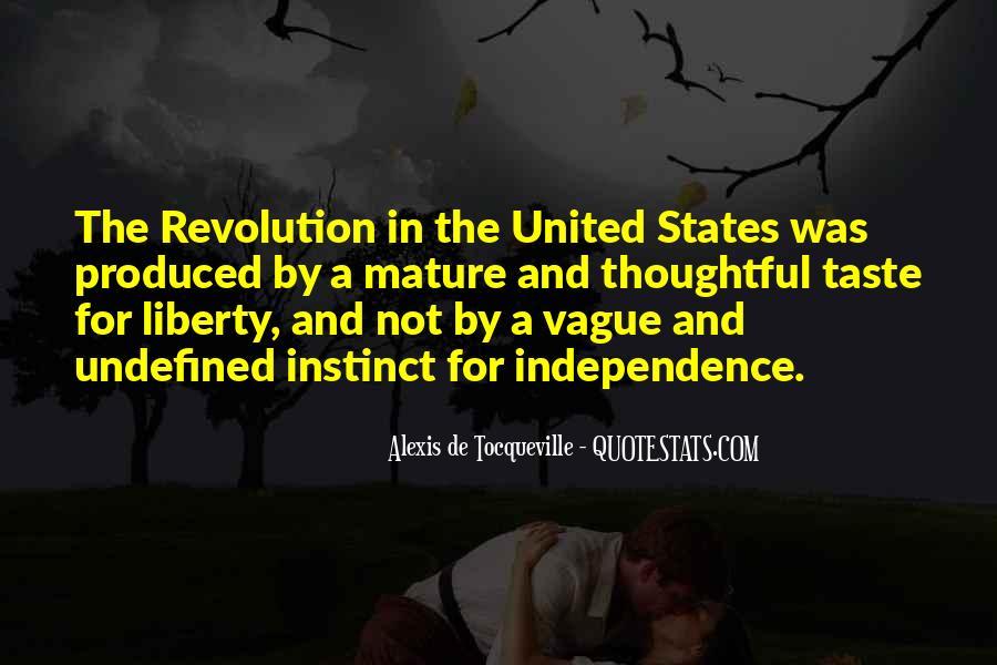 Alexis De Tocqueville Quotes #760