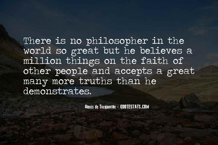 Alexis De Tocqueville Quotes #90517