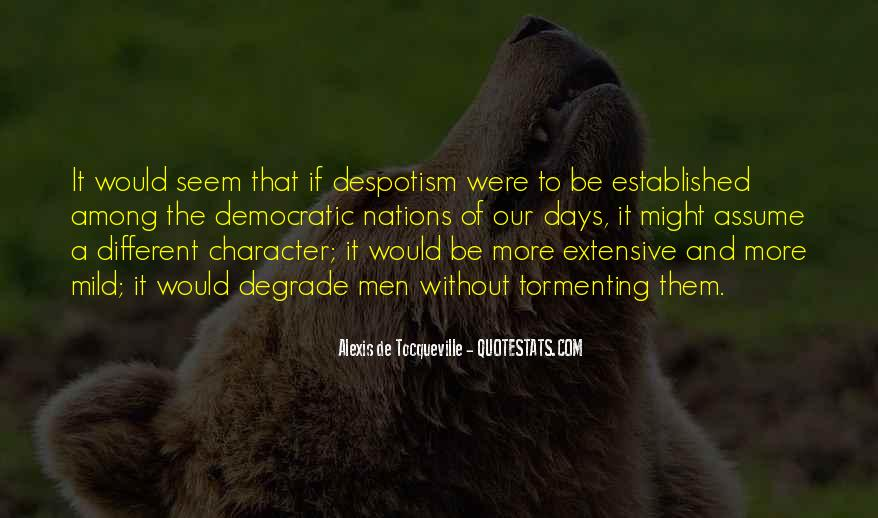 Alexis De Tocqueville Quotes #90690