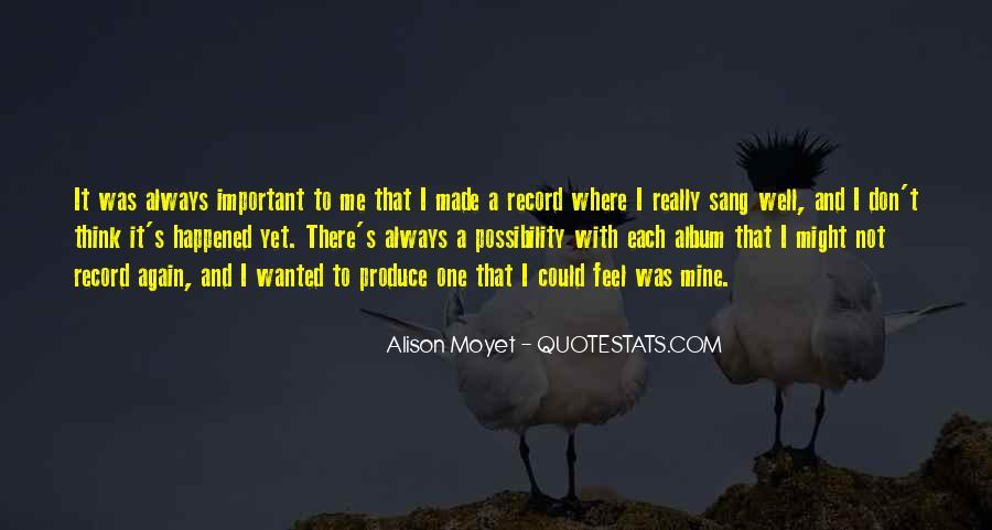 Alison Moyet Quotes #1073929
