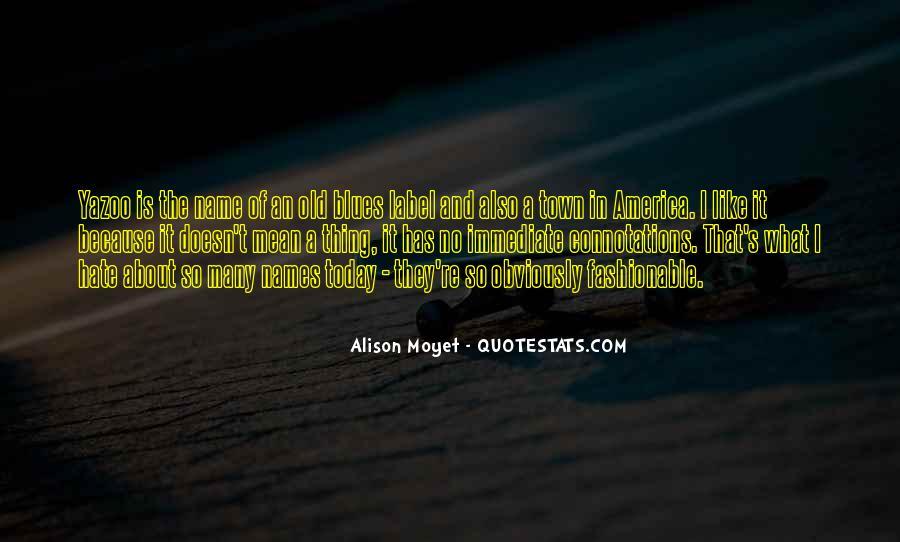 Alison Moyet Quotes #183921