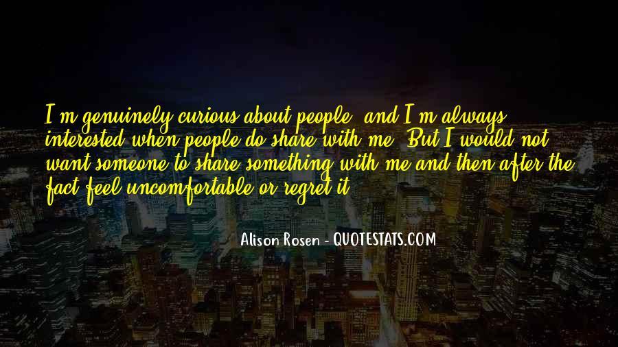 Alison Rosen Quotes #1224055