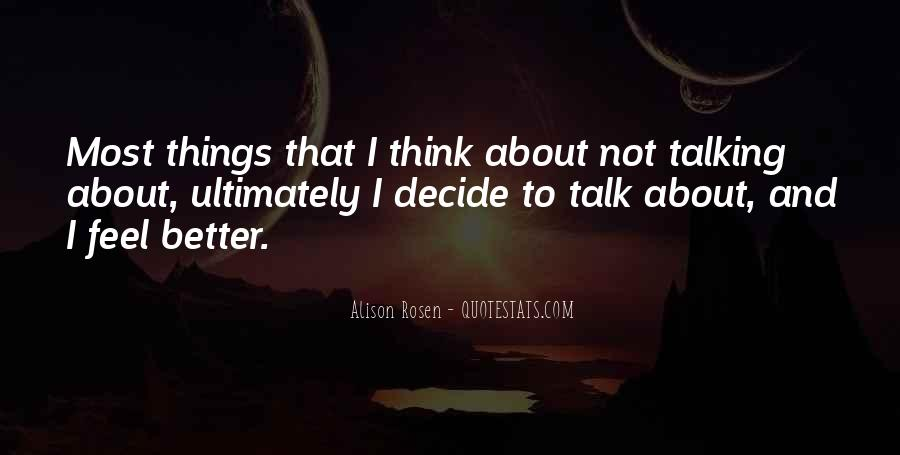 Alison Rosen Quotes #1802750