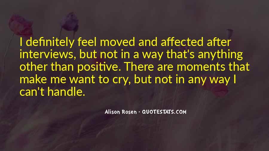 Alison Rosen Quotes #778373