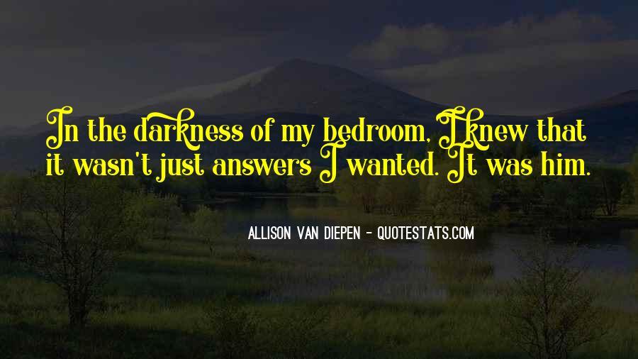Allison Van Diepen Quotes #126545
