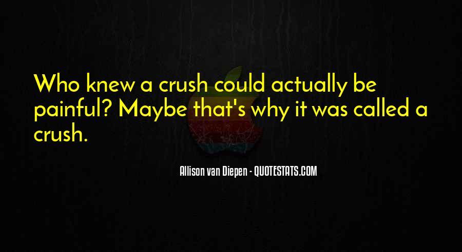 Allison Van Diepen Quotes #1653431