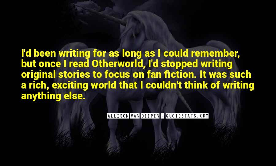 Allison Van Diepen Quotes #1735681