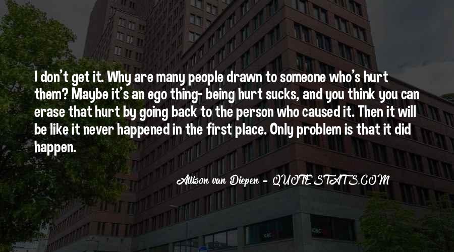 Allison Van Diepen Quotes #245750