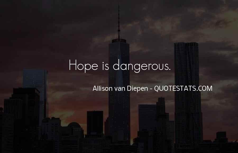 Allison Van Diepen Quotes #715370