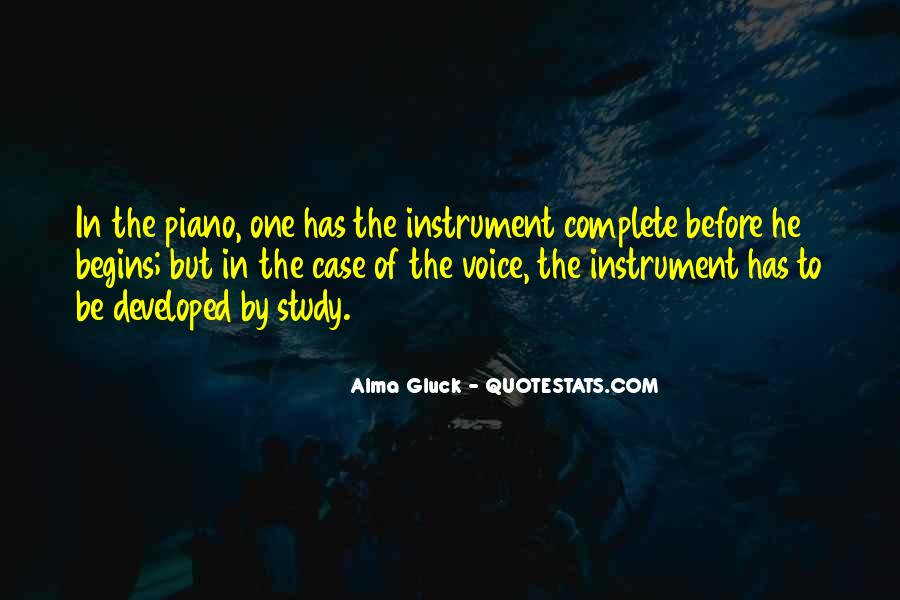 Alma Gluck Quotes #357241