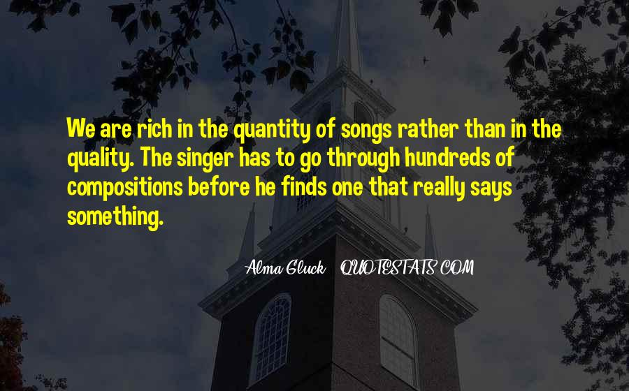 Alma Gluck Quotes #817465