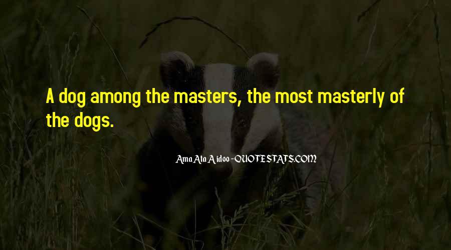 Ama Ata Aidoo Quotes #1411916