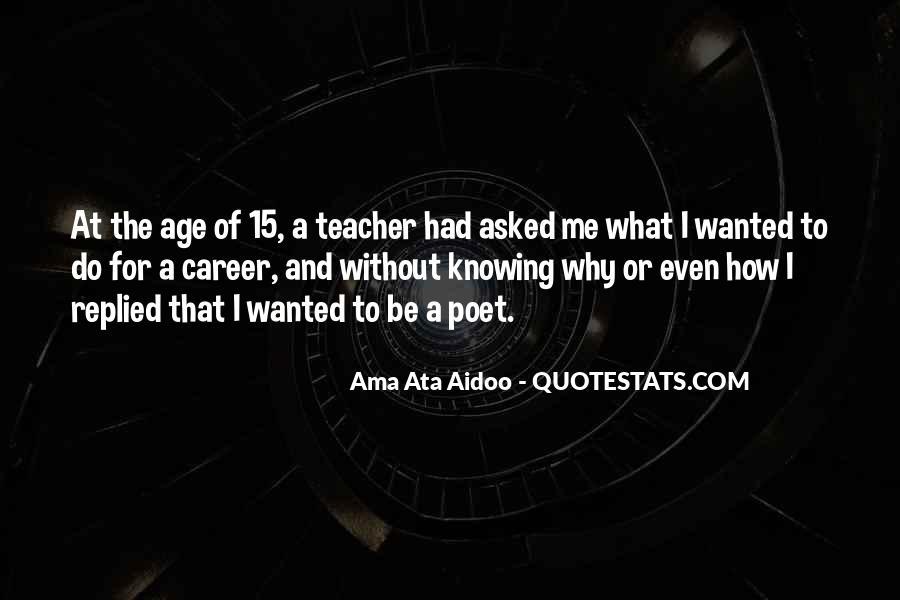 Ama Ata Aidoo Quotes #1455799