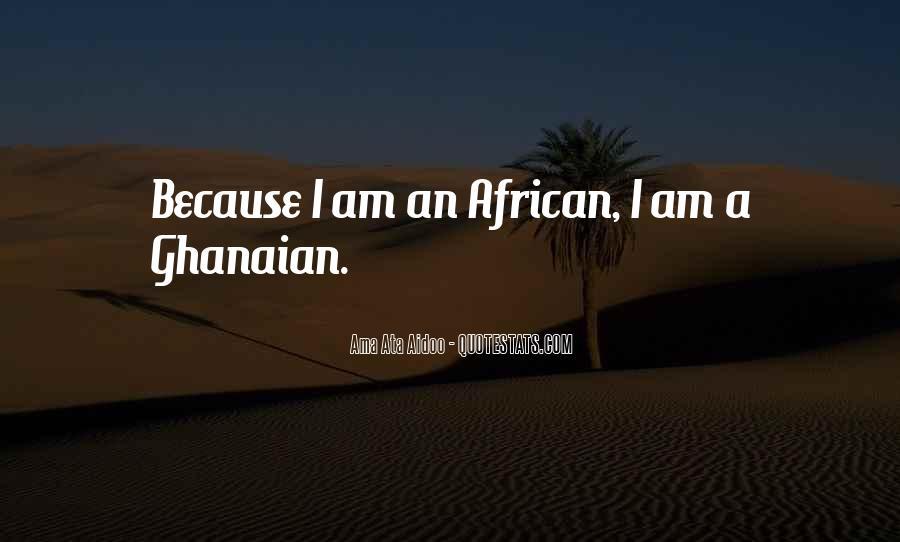 Ama Ata Aidoo Quotes #244221