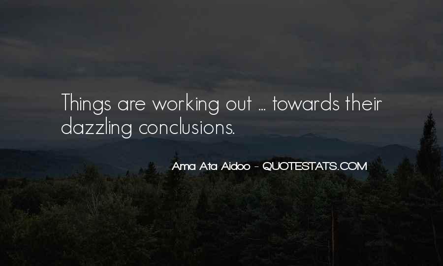 Ama Ata Aidoo Quotes #84251