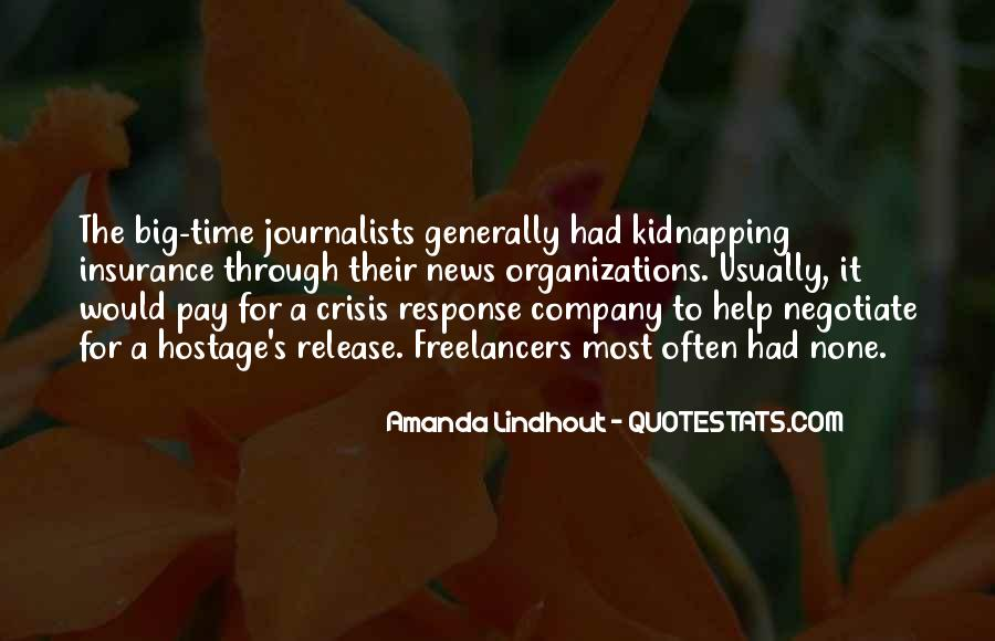 Amanda Lindhout Quotes #704704