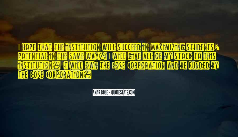 Amar Bose Quotes #648868