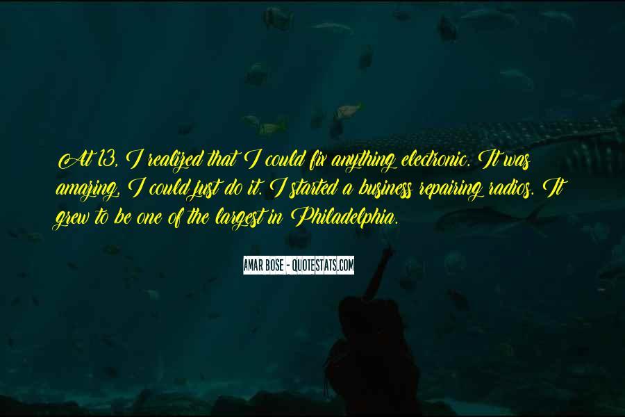 Amar Bose Quotes #758014