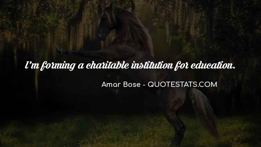 Amar Bose Quotes #787655