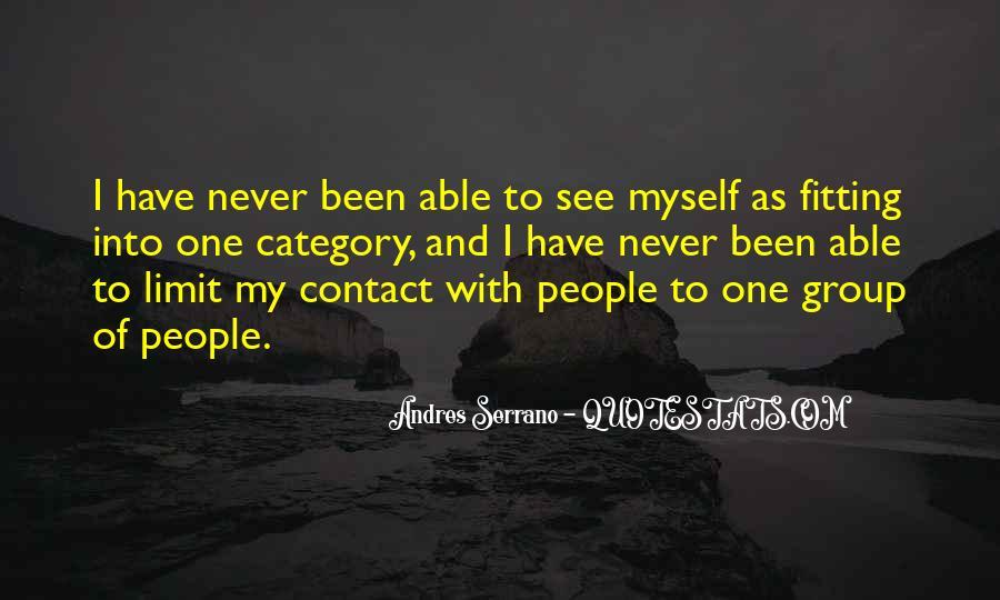 Andres Serrano Quotes #1032508