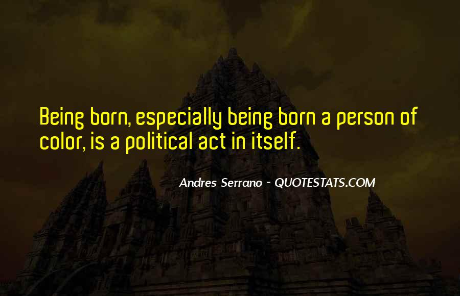 Andres Serrano Quotes #83030