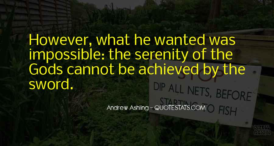 Andrew Ashling Quotes #1641371