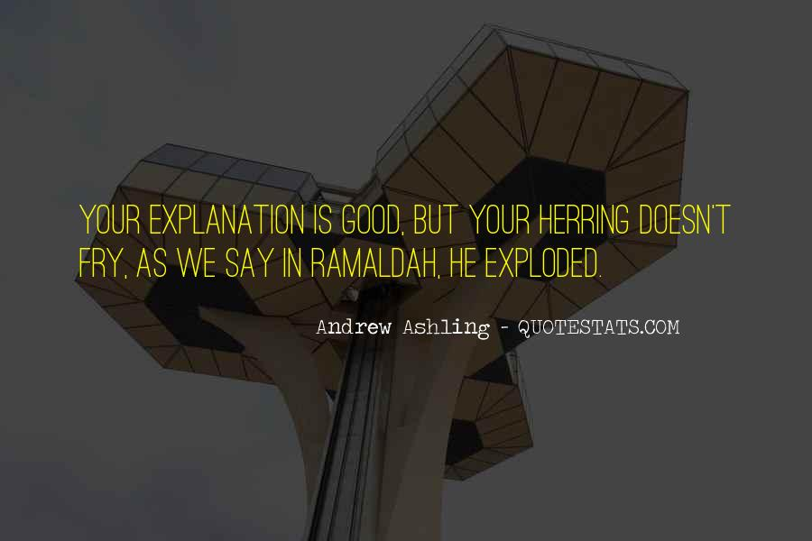 Andrew Ashling Quotes #624915