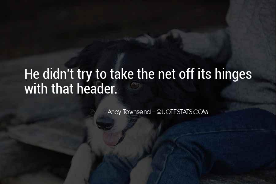 Andy Townsend Quotes #464183