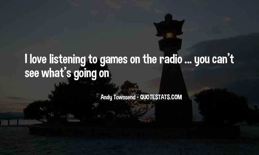 Andy Townsend Quotes #805971