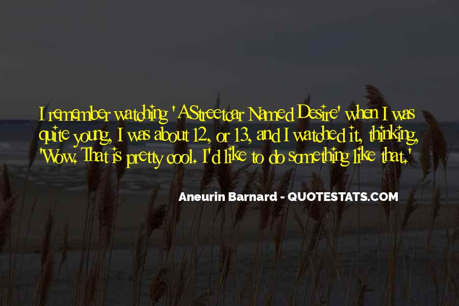 Aneurin Barnard Quotes #388725
