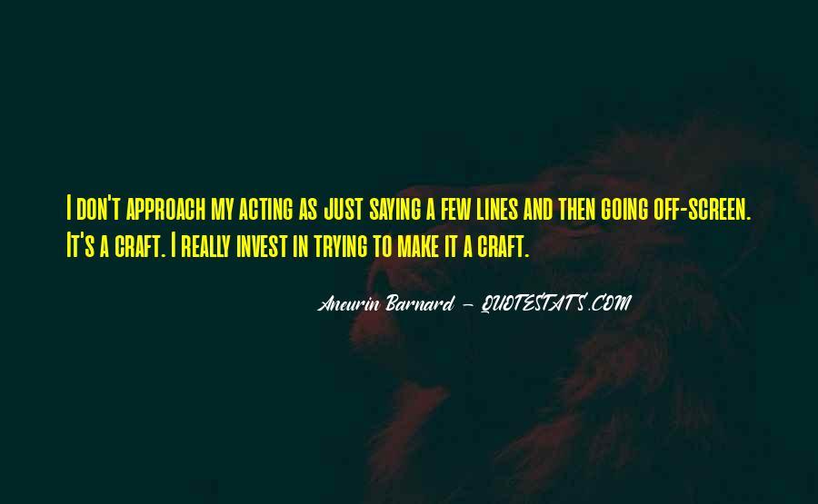 Aneurin Barnard Quotes #929635