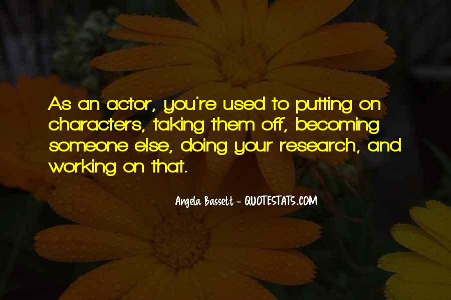 Angela Bassett Quotes #1108245