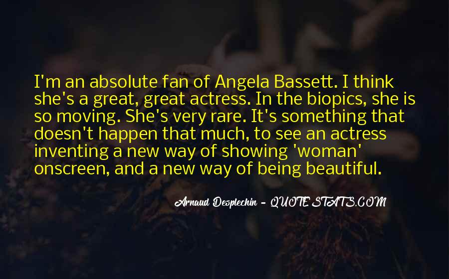Angela Bassett Quotes #790495