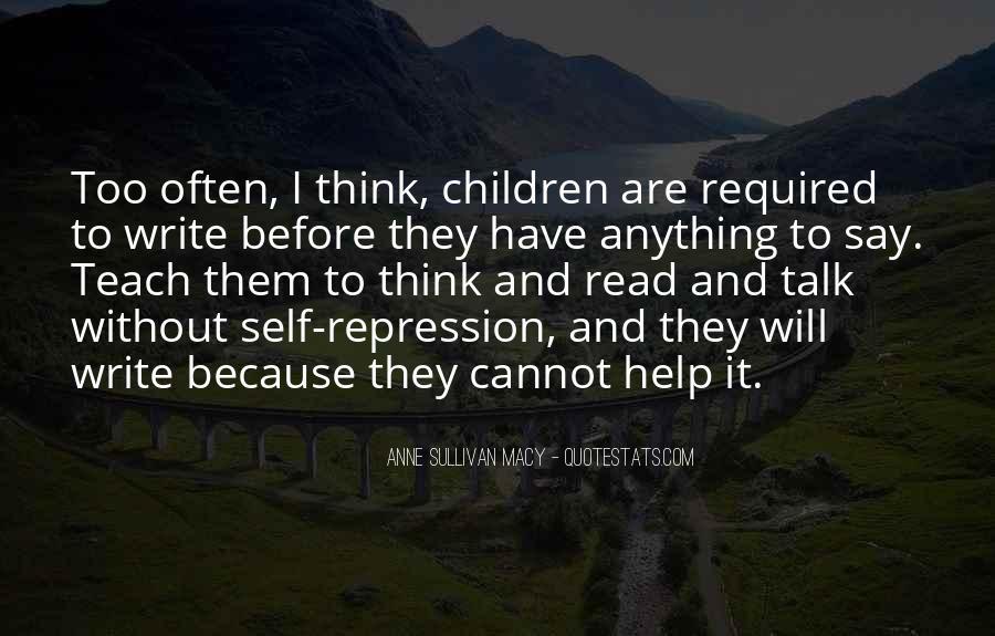 Anne Sullivan Macy Quotes #1218120