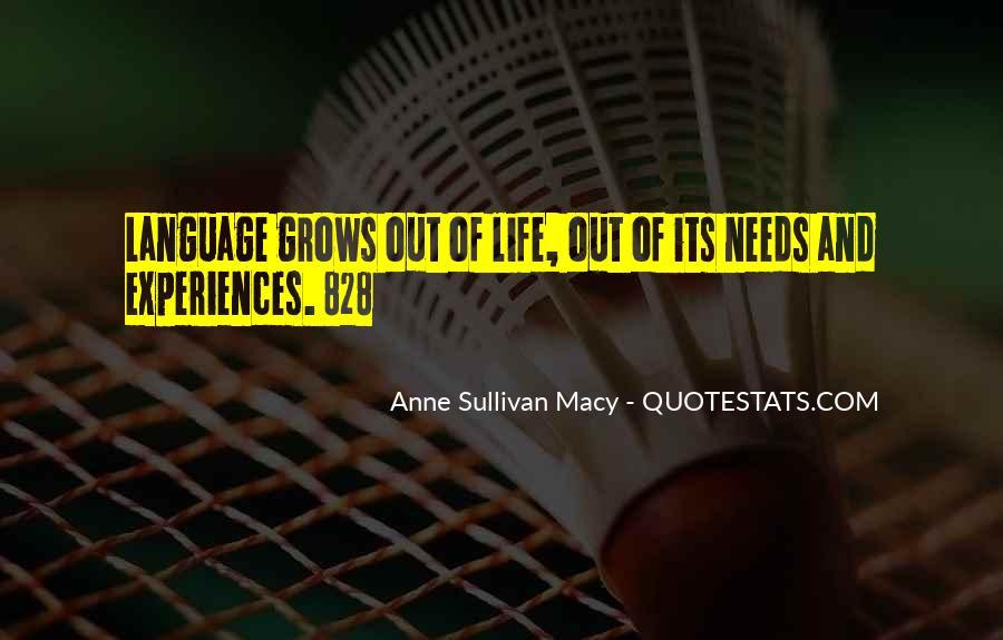 Anne Sullivan Macy Quotes #60405