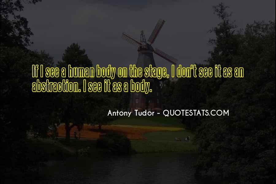 Antony Tudor Quotes #1174304