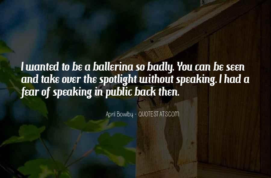 April Bowlby Quotes #137592