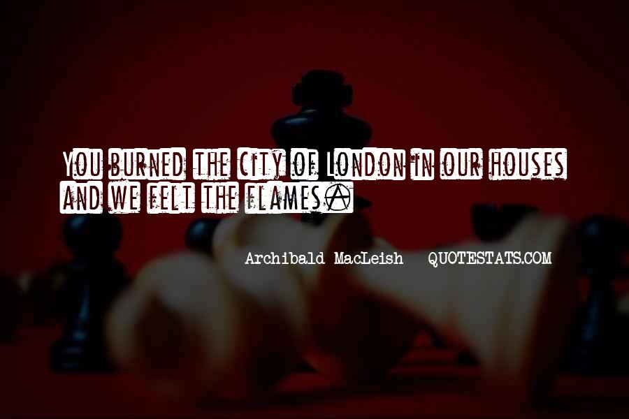 Archibald Macleish Quotes #1165496