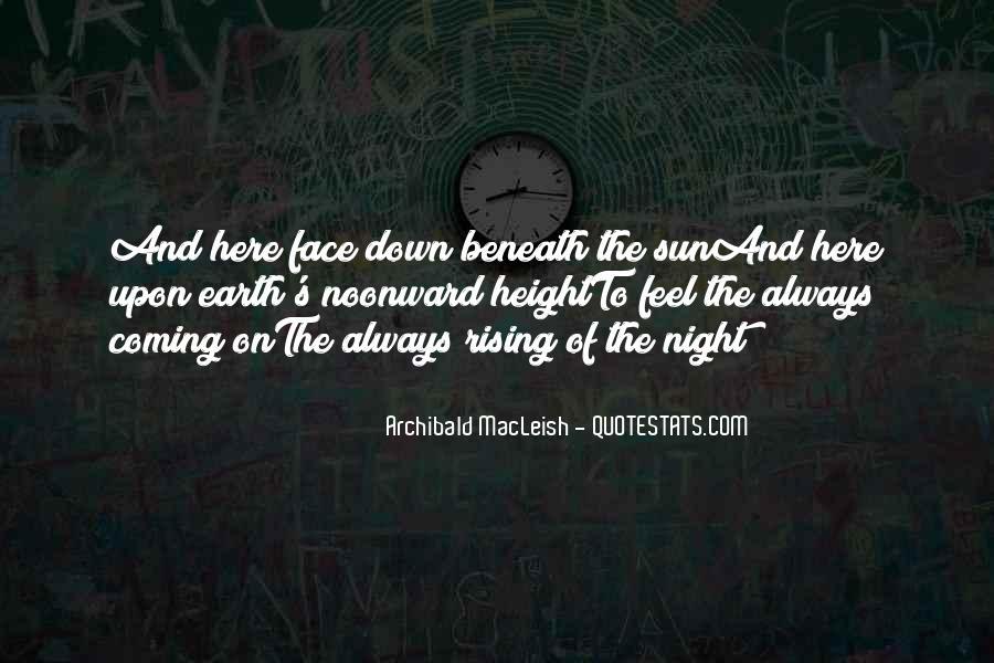 Archibald Macleish Quotes #1362864