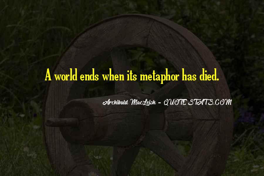 Archibald Macleish Quotes #1450187