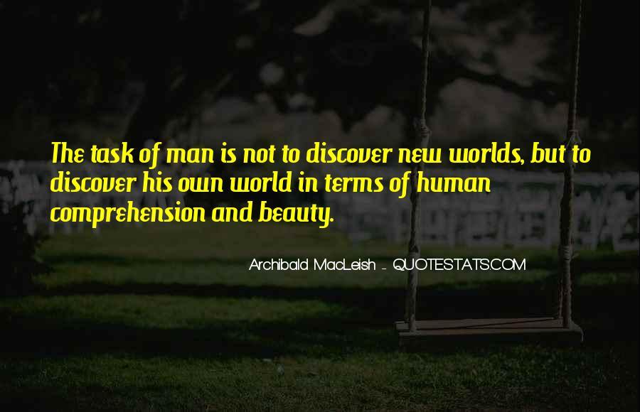 Archibald Macleish Quotes #1565161
