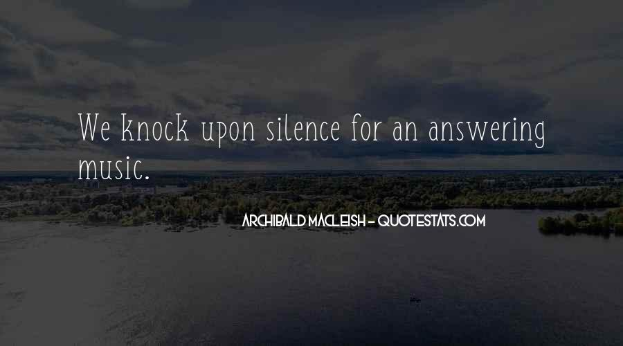 Archibald Macleish Quotes #1742016