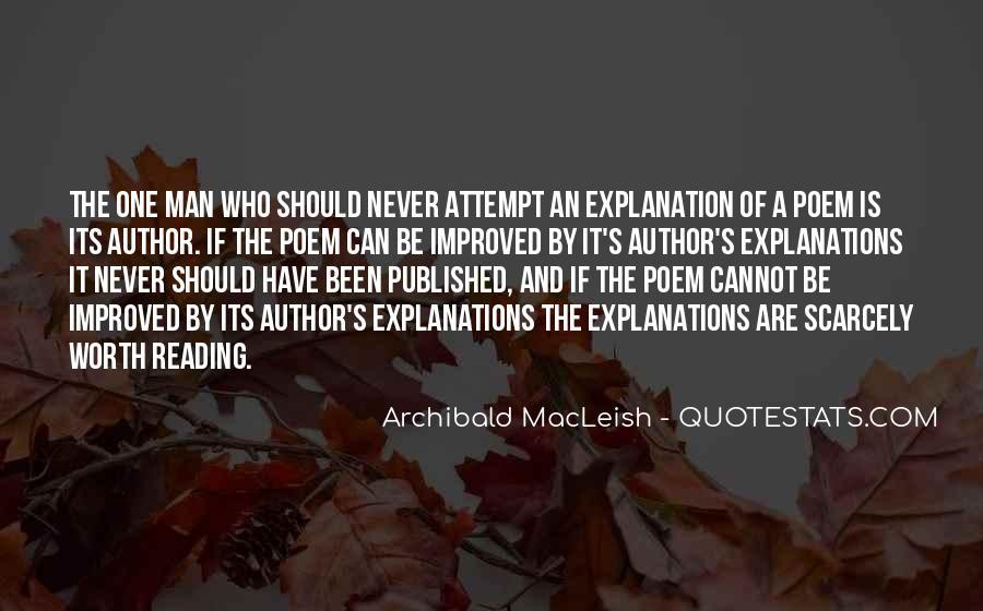 Archibald Macleish Quotes #482324