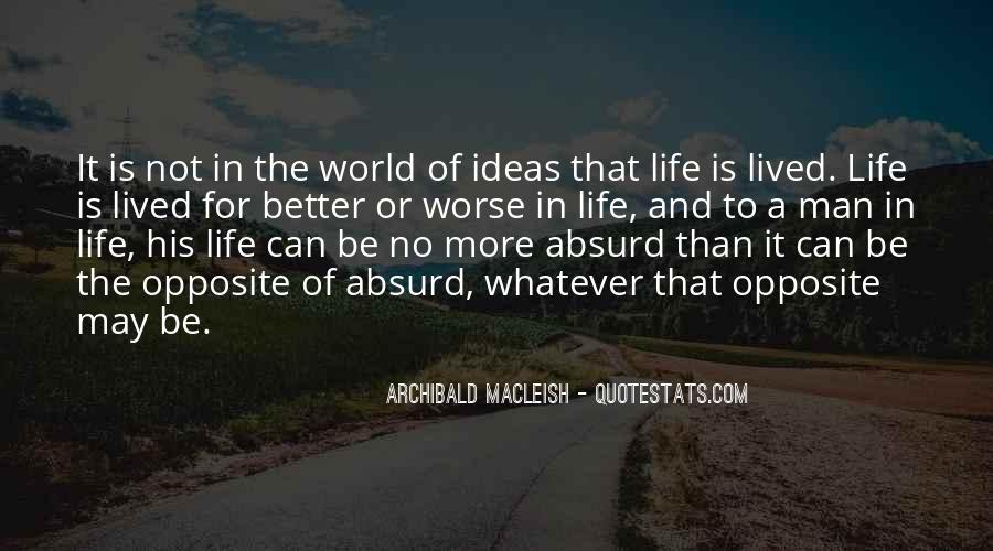 Archibald Macleish Quotes #483686