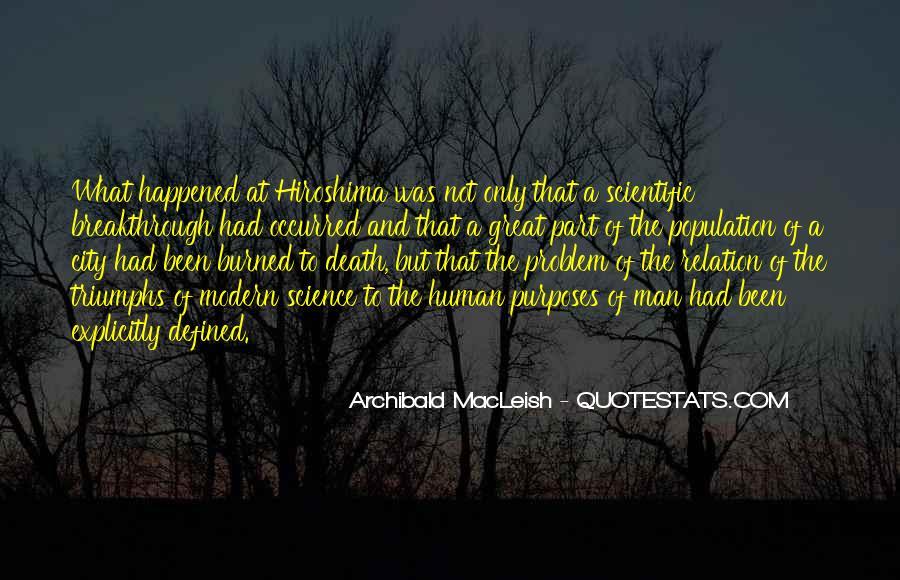 Archibald Macleish Quotes #828141