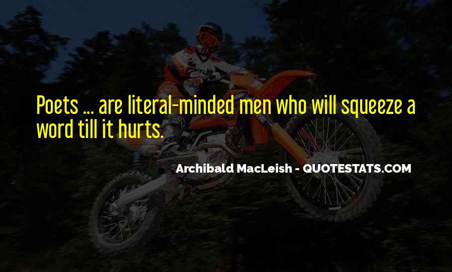 Archibald Macleish Quotes #895649