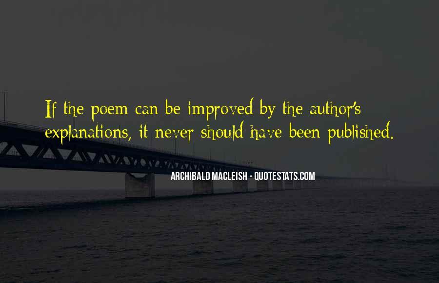 Archibald Macleish Quotes #937411