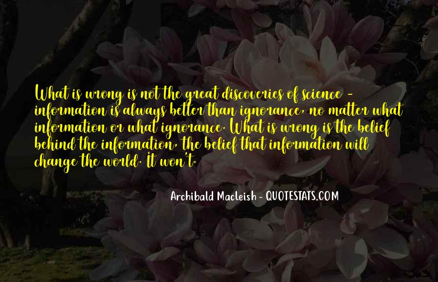 Archibald Macleish Quotes #992101