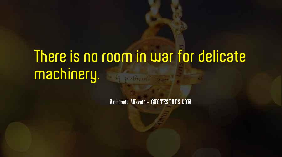 Archibald Wavell Quotes #753041
